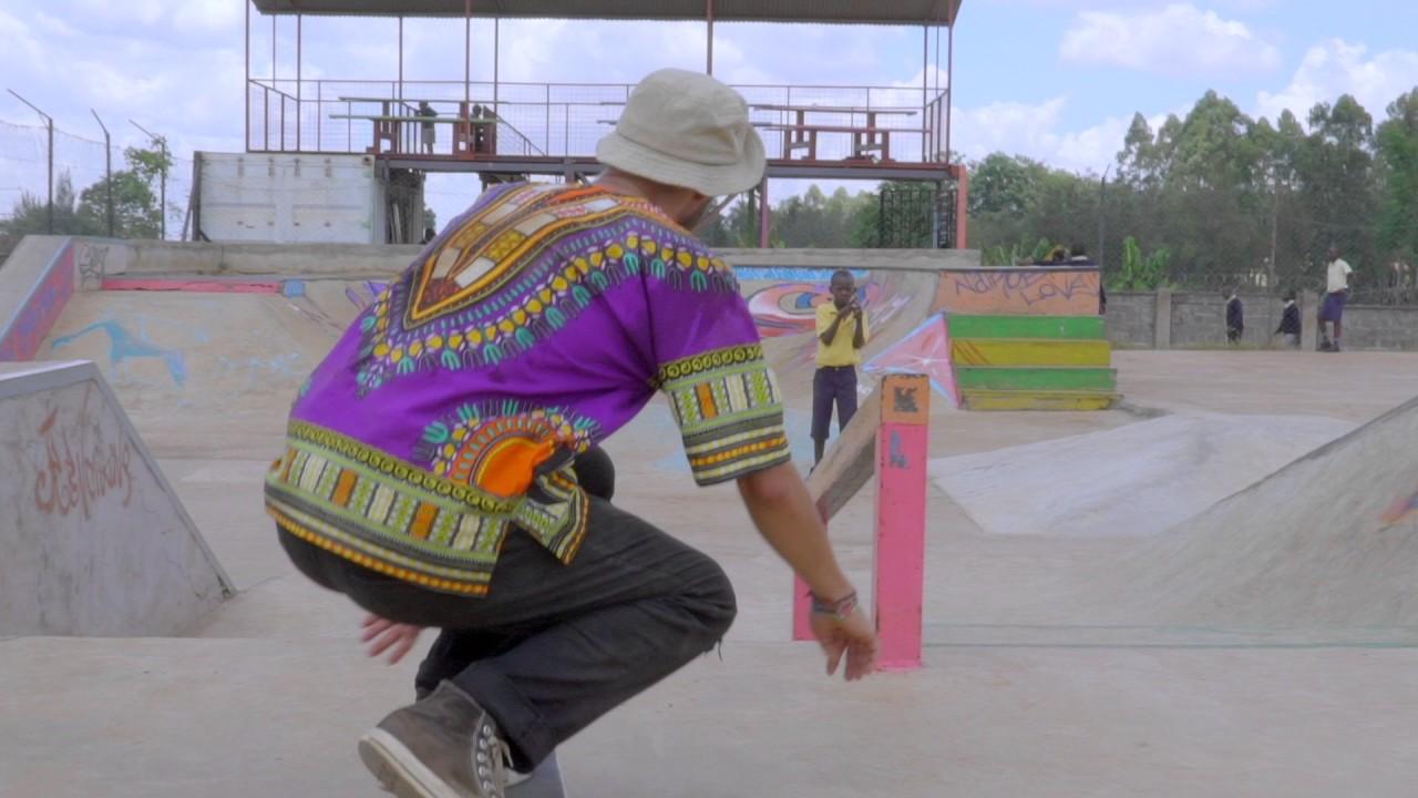 Robin Finkbeiner @ skate-aid Shangilia Skatepark, Nairobi/Kenya